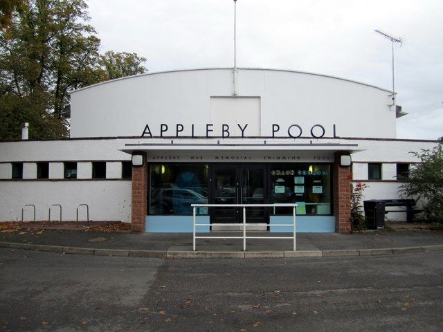Appleby war memorial swimming pool andrew curtis cc by sa 2 0 geograph britain and ireland for Appleby swimming pool timetable