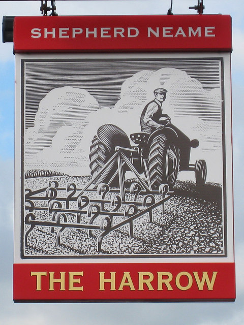 The Harrow sign
