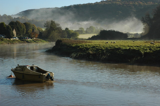 River Wye at Tintern