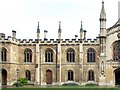 TL4458 : Panorama of the Corpus Christi College, Cambridge - 2 of 2 by Dave Hitchborne