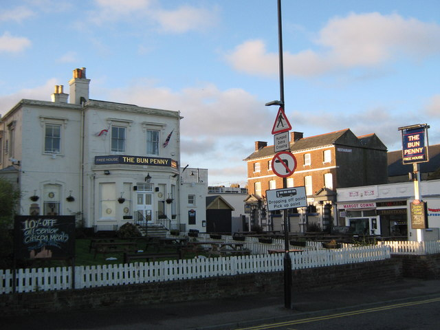 The Bun Penny, Public house, Herne Bay