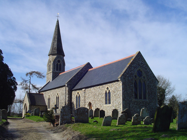 Walpole St Mary's church