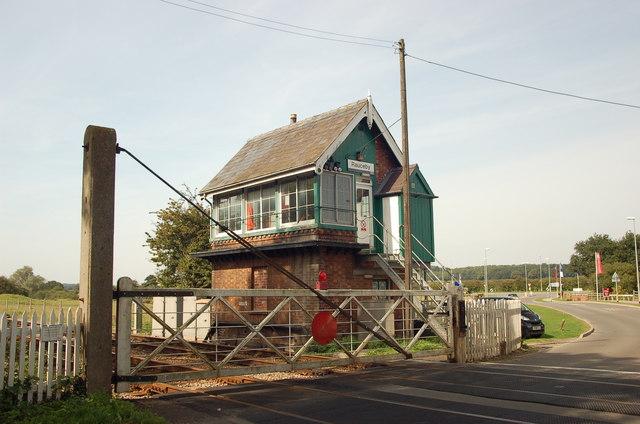 Signal Box, Rauceby, Lincolnshire