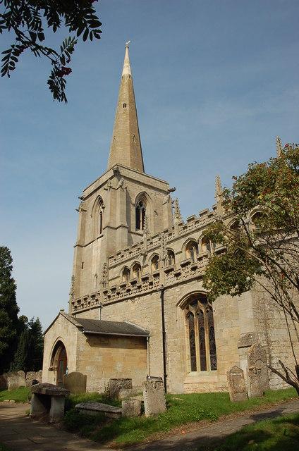 St Martin's Church, Ancaster, Lincolnshire