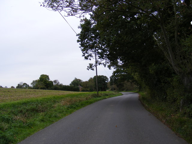 Halesworth Road, Sibton