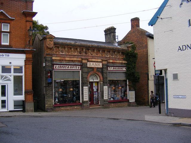 The former Halesworth Bank