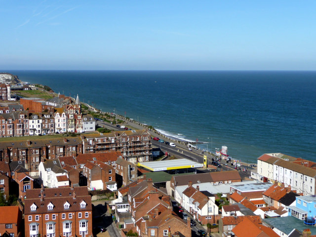 View from the Tower of Church of St Peter and St Paul, Cromer, Norfolk