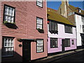 TQ8209 : Colourful Houses on All Saints' Street by Oast House Archive