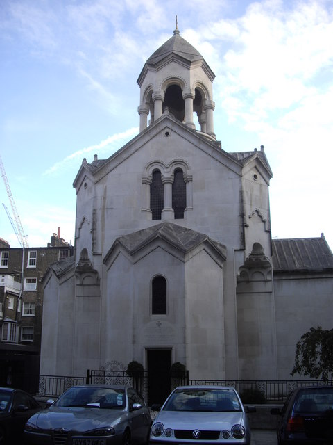 St Sarkis Armenian Church, Iverna Gardens, Kensington