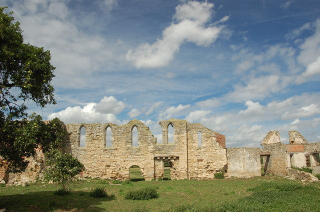 Tupholme Abbey, Lincolnshire