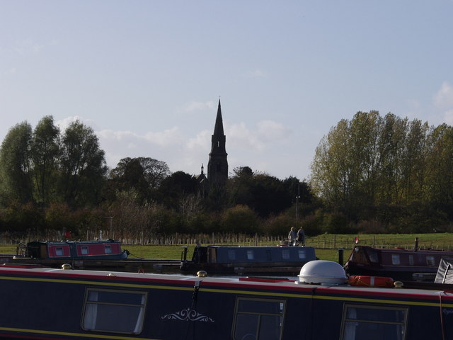 St Saviour's Church from the Marina