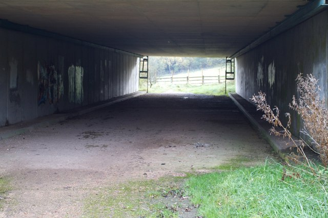 Underpass to nowhere