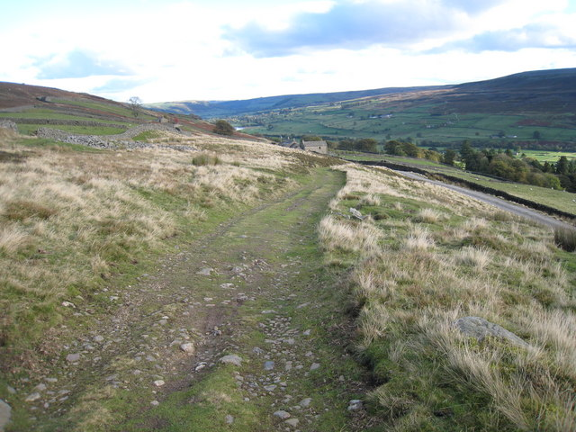 Bridleway near Thirns