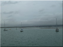 SU6202 : Mudflats only visible at low tide in Portsmouth Harbour by Basher Eyre
