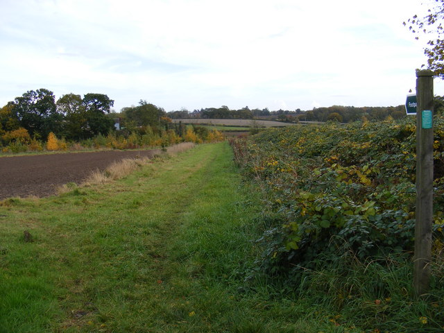 Footpath to Sandy & Carlton Lanes