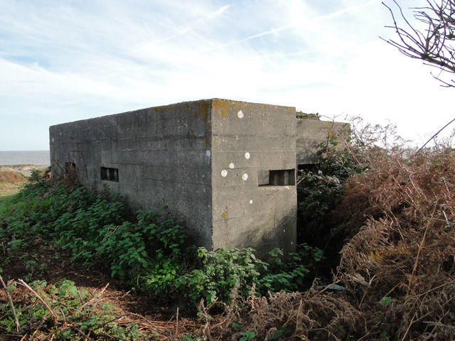 Pillbox at Benacre