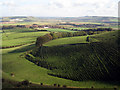 TQ3807 : View from South Downs Way by Oast House Archive