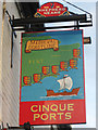 TQ9120 : Cinque Ports sign by Oast House Archive