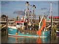 TQ9419 : Fishing Boat on River Rother by Oast House Archive