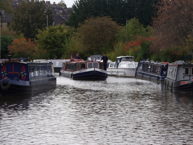 Trip boat on the Leeds & Liverpool canal