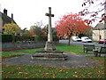 TF1402 : War memorial in Marholm by Richard Humphrey