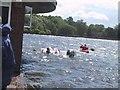 SP1095 : Raft Race 2004 - Powells Pool by Michael Westley