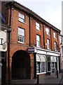 TM3877 : Flick &amp; Son Estate Agents, Thoroughfare, Halesworth by Adrian Cable