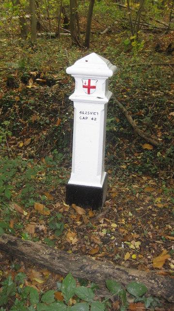 Coal Tax marker post