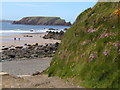 SM7707 : Gateholm Island seen from Marloes Sands by John Brightley