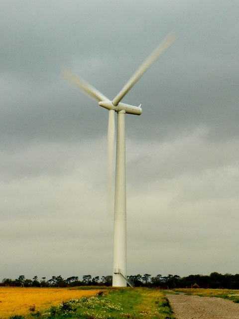 Turbine 2, Westmill Windfarm, Watchfield