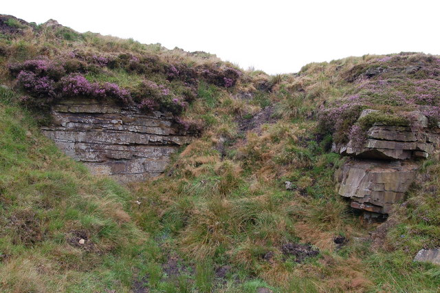 Abandoned quarry on Brex Height