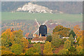 TQ2350 : Reigate Heath Windmill in Autumn by Ian Capper