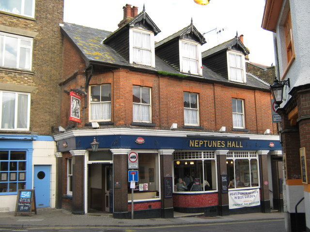 Neptunes Hall, Public House, Broadstairs