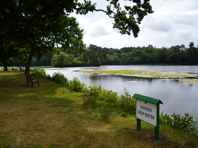 Ornamental lake at RMA Sandhurst
