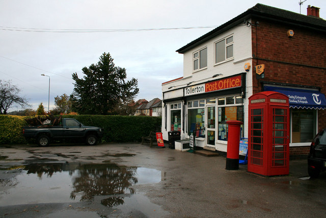 Tollerton Post Office