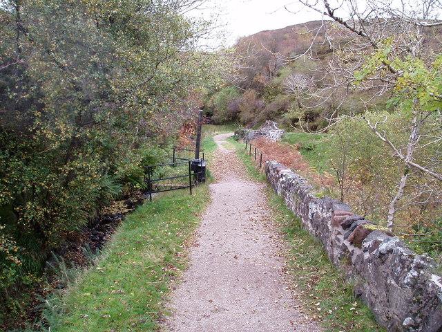 Sluice Gate on Greenock Cut