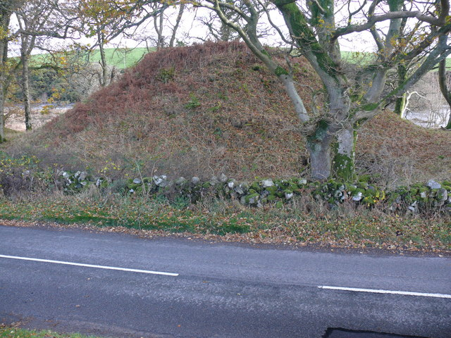 Motte at Boreland