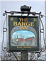 ST8260 : Sign for the Barge Inn by Maigheach-gheal