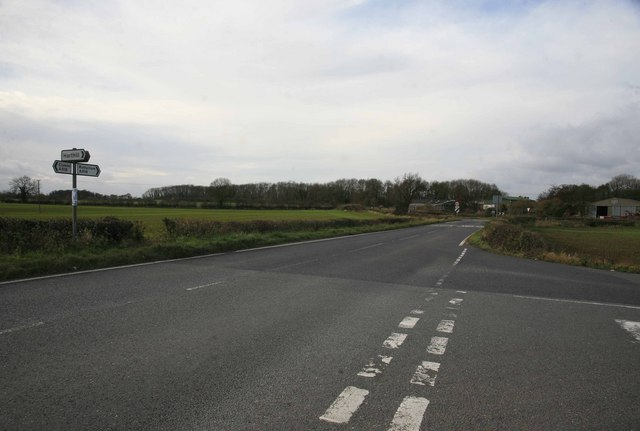 Road Junction on the A618