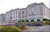 SN5981 : The National Library of Wales by Andrew King