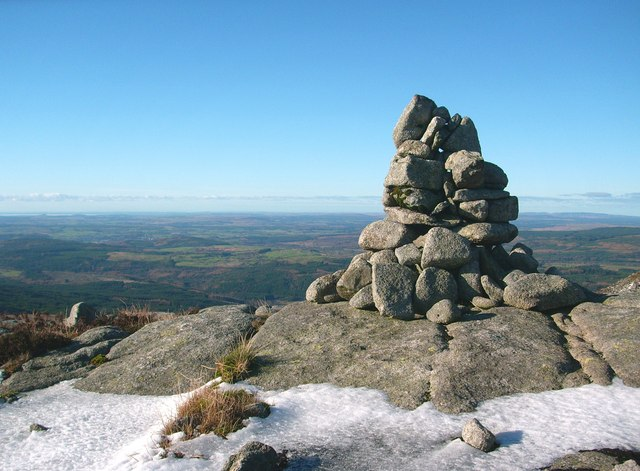 Cairn on a rock outcrop