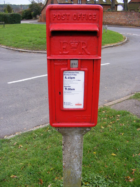 St.Andrew's Place Postbox