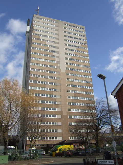 Council Housing - Heath Town Flats
