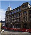 A B Listed former bonded warehouse on Strand Street, being converted to 6000 square metres of office space for East Ayrshire Council.