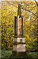 TL1040 : Obelisk for George Montagu-Dunk  Chicksands Woods : Week 46