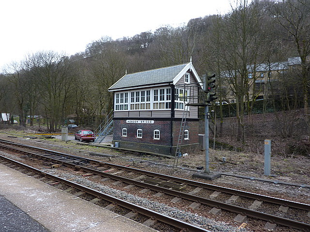 Hebden Bridge Railway Station, Signal box
