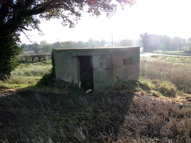 Pillbox east of Ellough airfield