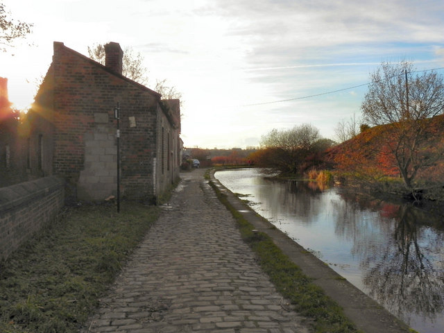 Manchester, Bolton & Bury Canal; Bolton Arm at Nob End