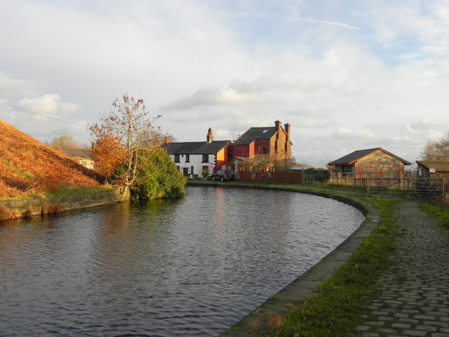 Canal Buildings At Nob End.