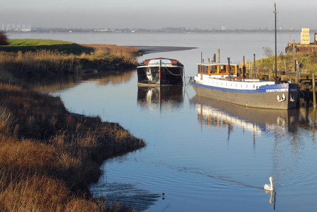 High Tide at Barrow Haven